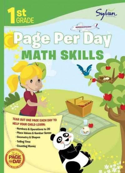 First Grade Page Per Day:: Math Skills