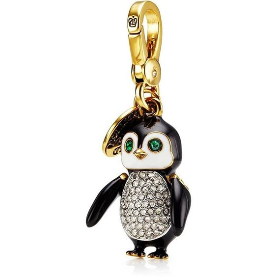 Juicy Couture Limited Edition Penguin Charm ($50) ❤ liked on Polyvore