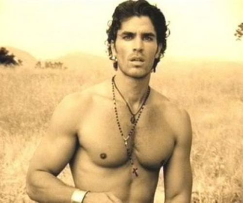 "Eduardo Verastegui-- if you want to see this guy in action,   check out Jennifer Lopez's video ""Ain't it Funny."" (This pic is a still from the video)"