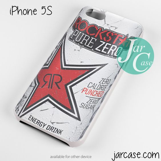rockstar energy drink red pure zero Phone case for iPhone 4/4s/5/5c/5s/6/6 plus