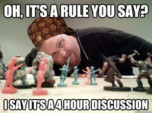 Scumbag Dungeons and Dragons Player: