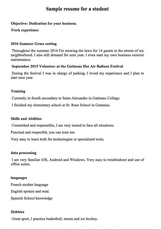 Verte - Verónica Montiel 02 Escritos Pinterest - sample resume for first year college student