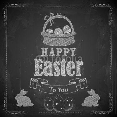 Easter chalkboard art - Google Search