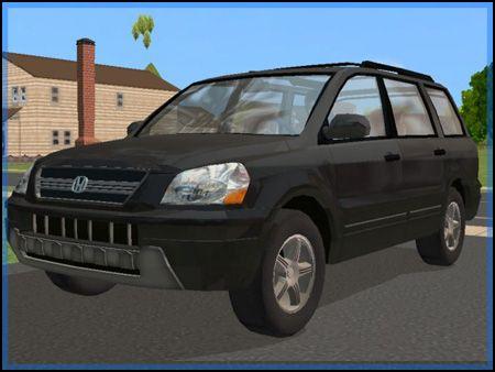 Fresh-Prince Creations - Sims 2 - 2005 Honda Pilot