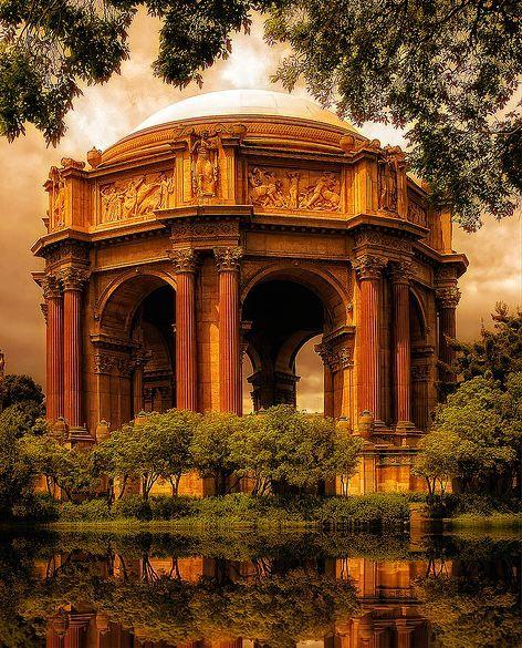 San Francisco - Palace of Fine Arts