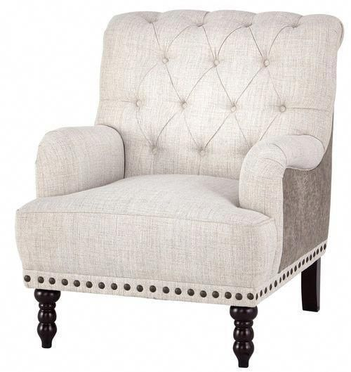 Tartonelle Ivory Taupe Accent Chair A3000053 Ashley Furniture Traditional Accent Chair Furniture