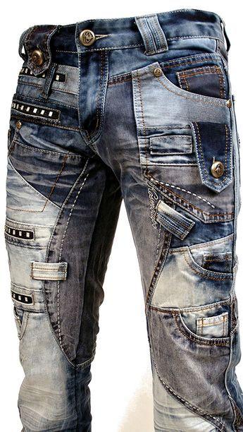 Jeans Kosmo Lupo Homme Neuf Toute Taille W32l34 T 42 Amazon Fr Vetements Et Accessoires Mens Pants Fashion Mens Designer Jeans Jeans Outfit Men