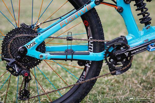 Box Components Drive And Chain Tamer Device Bike Design