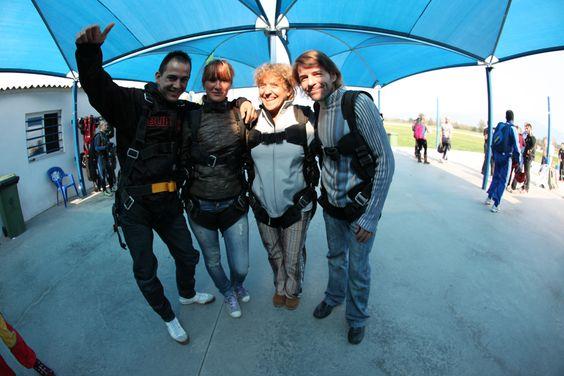 2010 Salto en Tandem Paracaidas por Familia Empleados con Alejandro Perez Irus AlejandroPI Deportes de Riesgo y Actividades Diferentes