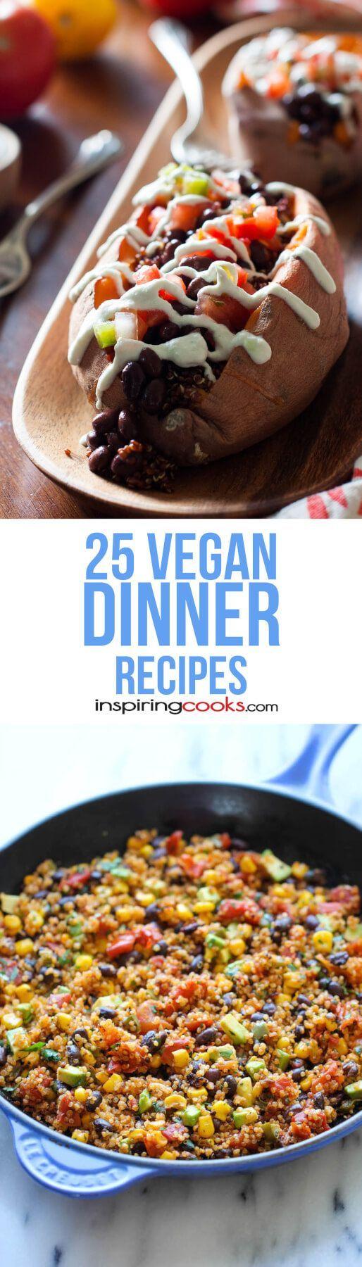 The 25 Best Vegan Dinner Main Dish Recipes