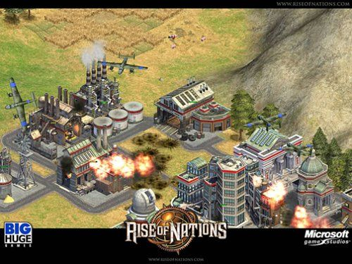 Rise of Nations Video Game Images