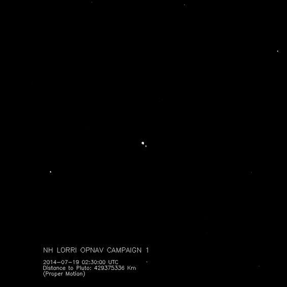 Plutón y Caronte, en movimiento