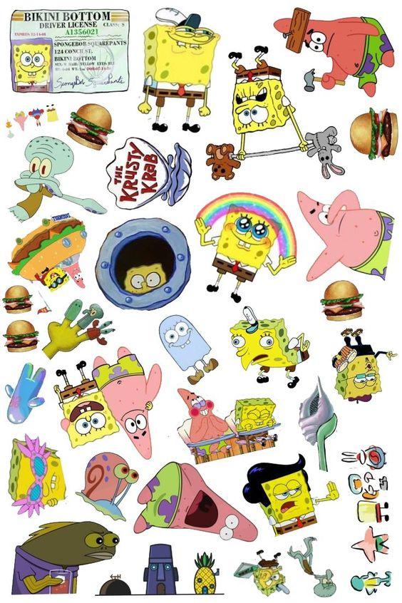 Stickers Bob Esponja Tumblr Png Bob Esponja Png Stickers Tumblr Adesivos Sticker Adesivos Imprimiveis Gratuitos Autocolantes Tumblr