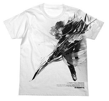 AmiAmi [Character & Hobby Shop] | Guilty Crown - Inori & Shu T-shirt/ WHITE - S