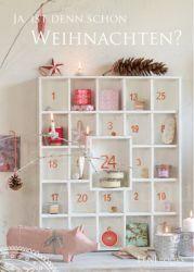 Adventskalender-Regal ⭐️ Advent-Calendar-Shelf (Jedes Regalfach nummerieren mit Geschenken füllen und weihnachtlich dekorieren)