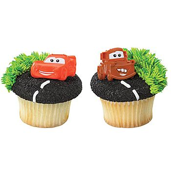 CARS CUPCAKE RING ASSORTMENT