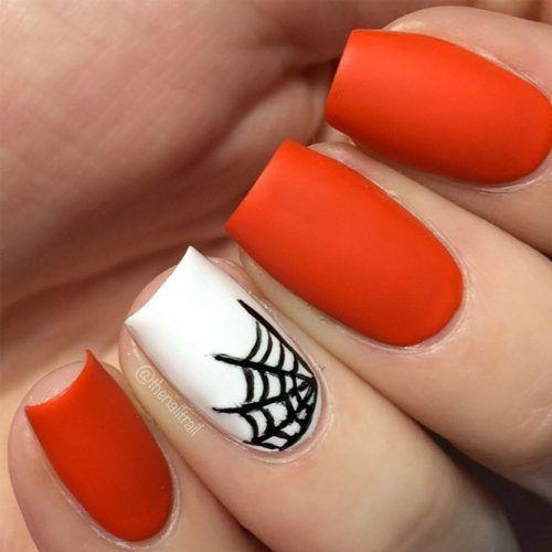 39 Cool And Easy Halloween Nail Ideas Halloween Nails Easy Holloween Nails Halloween Nail Designs