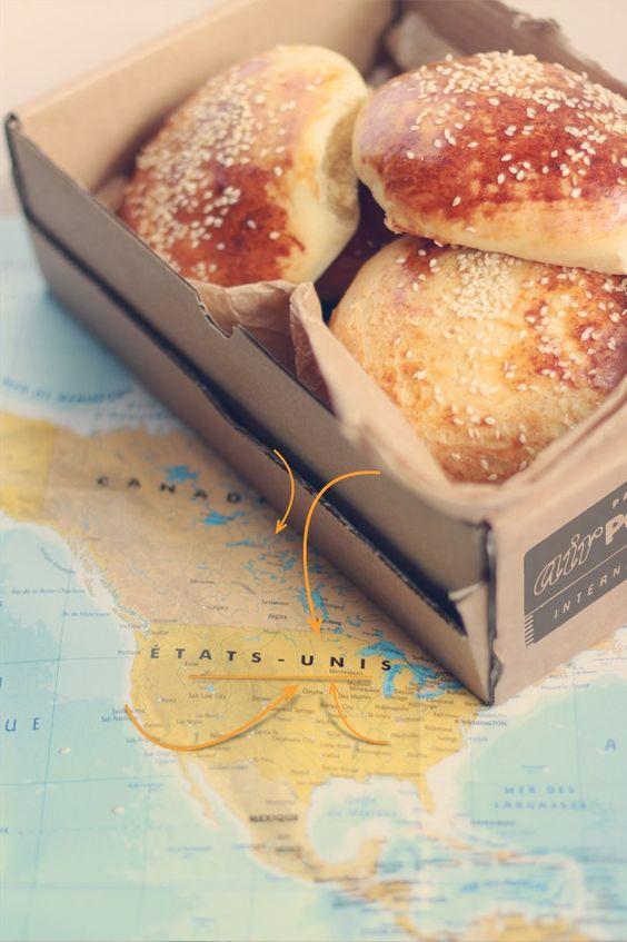 Une recette de buns à l'américaine, briochés et moelleux à souhait pour combler toutes vos envies de burgers et régaler vos invités.