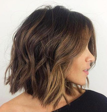 20 Chic Cute Short Hairstyle Pics For Women Messy Bob Hairstyles Hair Styles Medium Hair Styles