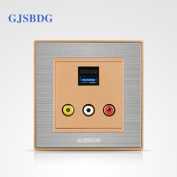 $22.01 (Buy here: https://alitems.com/g/1e8d114494ebda23ff8b16525dc3e8/?i=5&ulp=https%3A%2F%2Fwww.aliexpress.com%2Fitem%2FLow-Price-1pcs-GJSBDG-Luxury-Wall-Switch-Panel-Classic-Series-Multimedia-Switch-With-USB-Socket%2F32715293842.html ) Low Price 1pcs GJSBDG Luxury Wall Switch Panel Classic Series Multimedia Switch With USB Socket for just $22.01