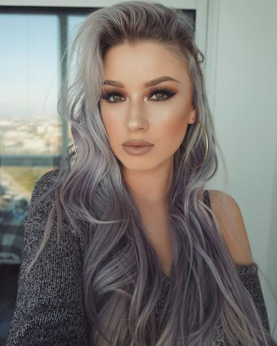 4 Bold Hair Color ideas to Try This Summer | Gray hair, Hair ...