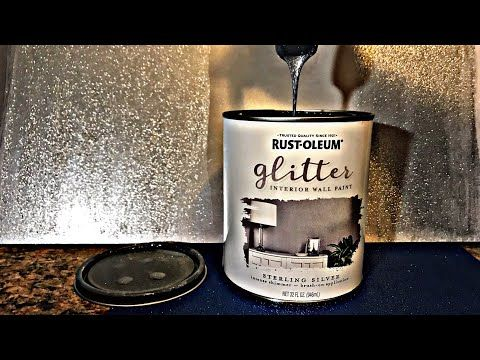 Sterling Silver Glitter Rustoleum Paint Youtube Em 2020