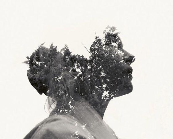 Multiple exposure portraits by Christoffer Relander.