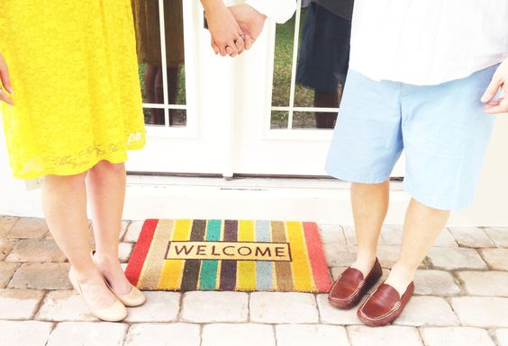 New home photo ideas. Mat is from Target