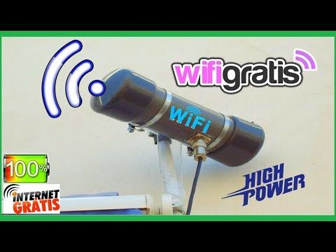 Antena Ultra Potente Wifi Capta Hasta A 20kms De Distancia Wifi