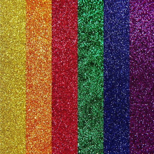 6 Rainbow Color Glitter Heat Transfer Vinyl Bundle 20 X12 Sheets Glitter Heat Transfer Vinyl Rainbow Colors Vinyl