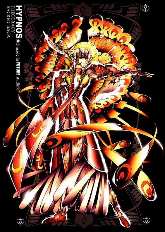 Sacred Saga es una colección de artbooks producidos en el año 2003 por artistas gráficos de Future Studio, un grupo de creativos y artistas del que no se tiene mucha información salvo que son originarios de Hong Kong y están abocados al diseño artístico multimedia, la decoración, la fotografía y la moda. La co