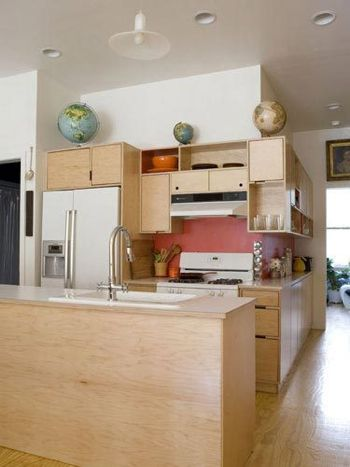 All sizes kerf design plywood kitchen floor flickr for All plywood kitchen cabinets