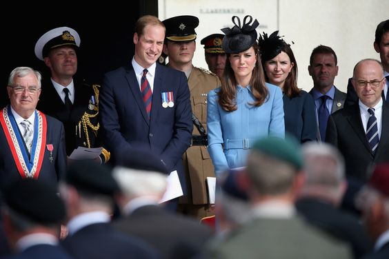 Kate Middleton Prince William Photos: The 70th Anniversary of D-Day Landings Commemorated