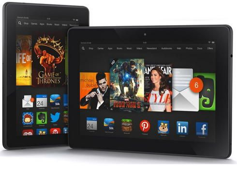 Amazon explica motivo das bordas azuis no Kindle Fire HDX