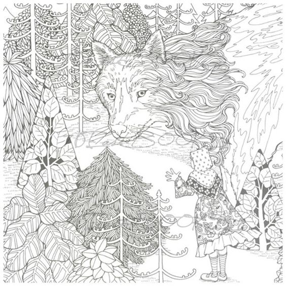 The Mysterious Library Coloring Book For Adult By Eunji