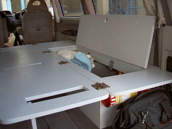 Minivan bed