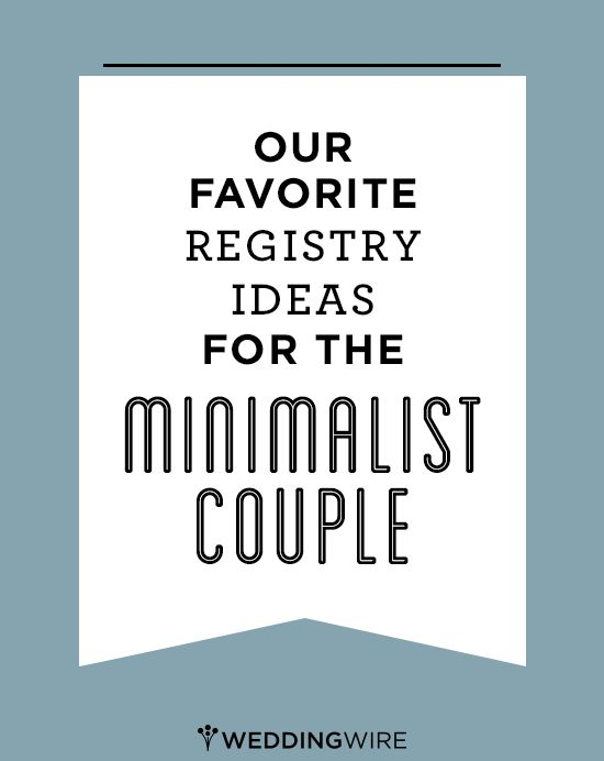 Stainless steel and modern shapes. These are our favorite wedding registry ideas for the minimalist bride and groom!