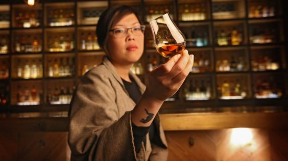 Nant Whisky Bar manager Evelyn Liong says whiskyu0027s appeal cuts - bar manager