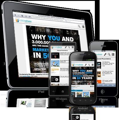 slideshare for mobile marketing is now easier