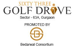 Bedarwal brings you Sixty Three A Golf Drive (63A Golf Drive), luxurious yet affordable apartments at sector- 63, Gurgaon.
