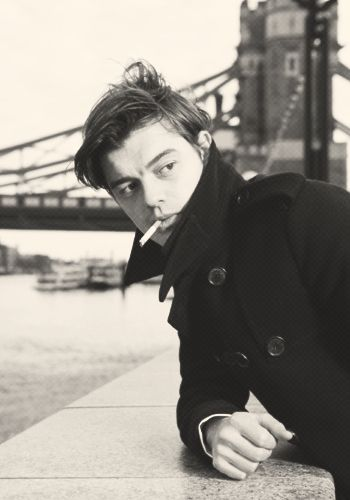 Sam Riley:  I had a dream that I met him on that bridge.... It was weird but cool❤️❤️❤️