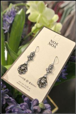 Noa Noa Kupka Earrings 1-2364-1 in Silver £18