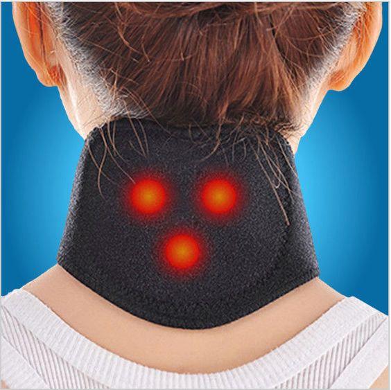2016 Hot sale!New Tourmaline Magnetic Therapy Neck Massager Cervical Vertebra Pr…
