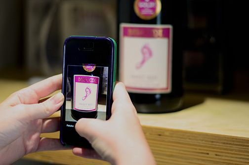 Wine When & Where - As easy as taking a picture and saving the wine to your gallery!