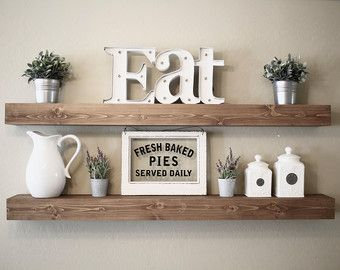 Rustic Wooden Picture Ledge Shelf Gallery By DunnRusticDesigns | Home Decor  | Pinterest | Wooden Floating Shelves, Picture Ledge Shelf And Gallery Wall  ...