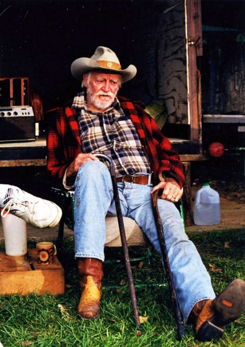 Richard Farnsworth in The Straight Story