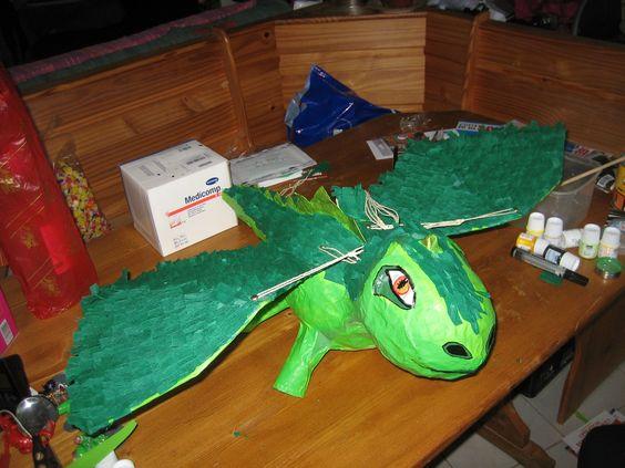 dragon piñata 2nd try