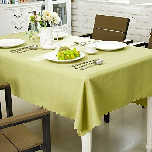 Ostepdecor Waterproof Tablecloth 100 Polyester Dinner Picnic