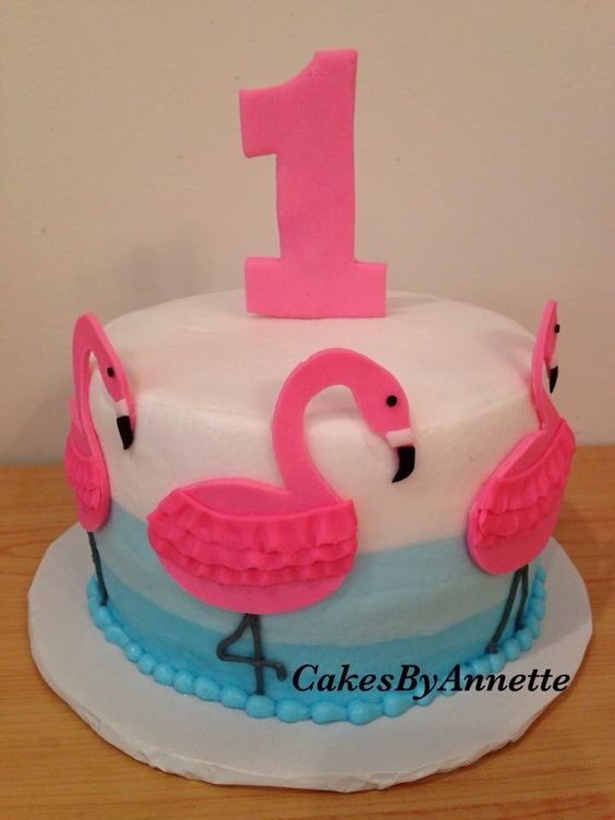 Flamingo Cake Smash Cakes Pinterest Flamingo Cake