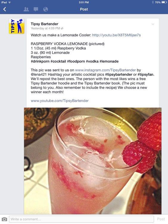 Raspberry Vodka Punch